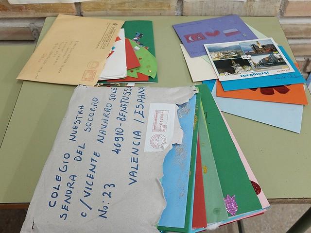 Postales de nuestros amigos Erasmus
