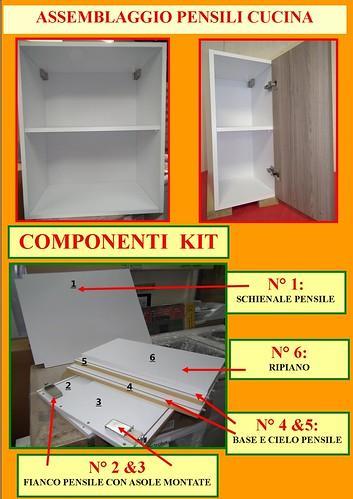 Pensili e basi cucina in kit di semplice e rapido assemblaggio clicca e guarda ebay - Basi cucina in kit ...