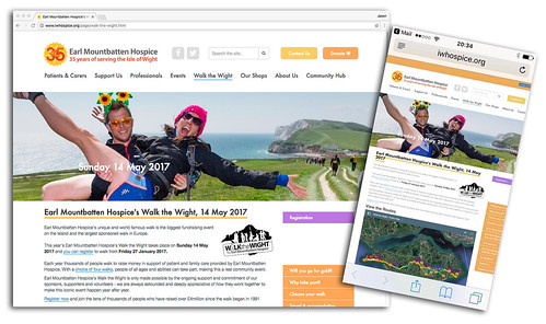 Earl Mountbatten Hospice's Walk the Wight | by s0ulsurfing