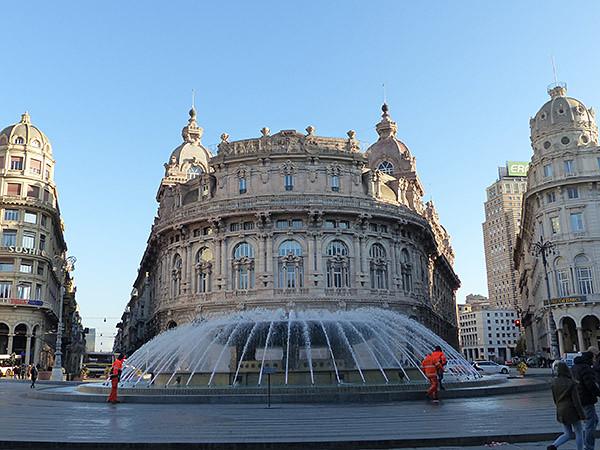 fontaine gênes