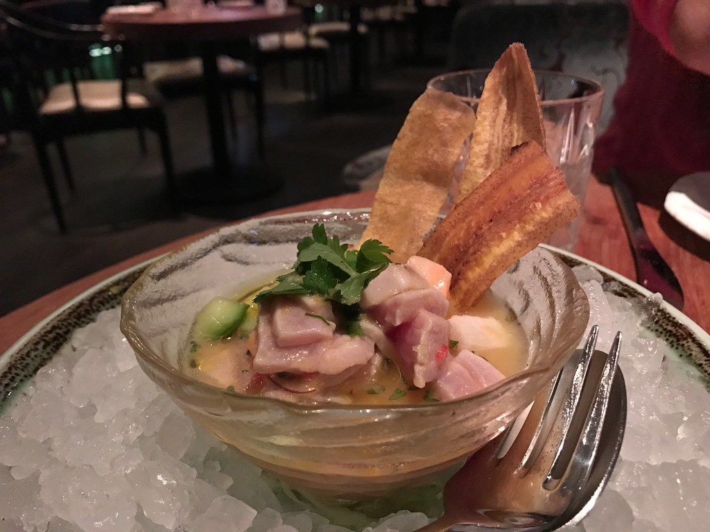 seafood room ceviche