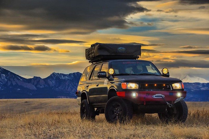 Toytec Lifts: 4Runner with mountains January 2017