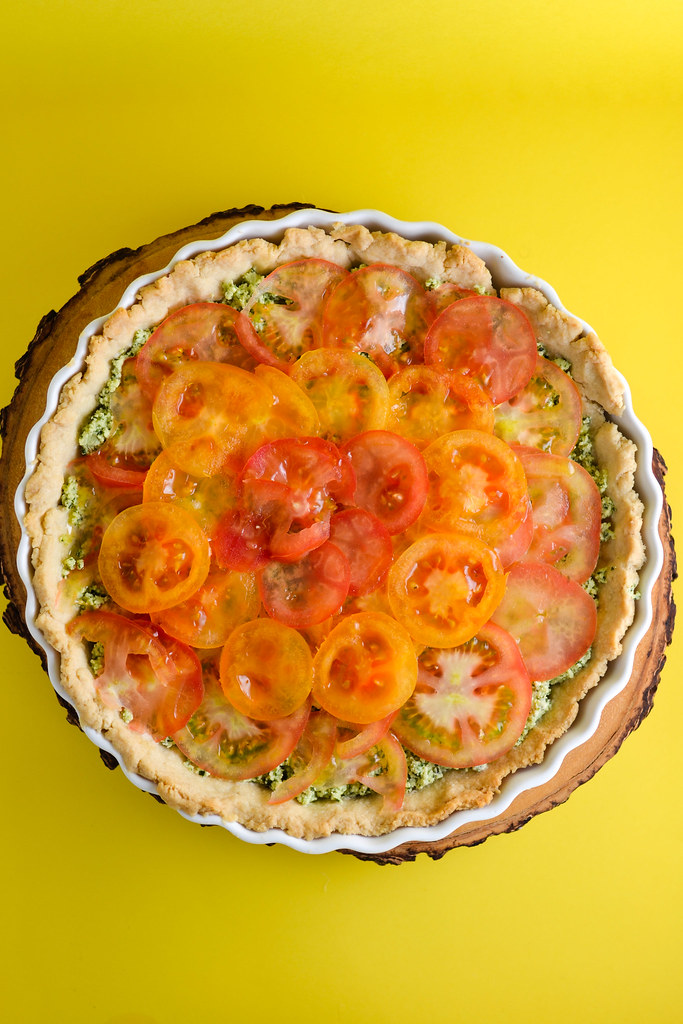 tomato and mascarpone tart | things i made today
