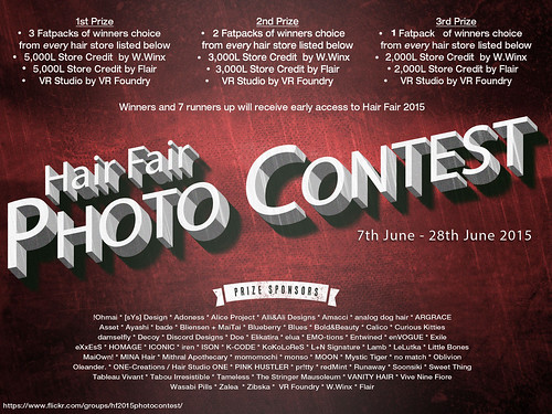 Hair Fair 2015 Photo Contest Poster | by SasyScarborough