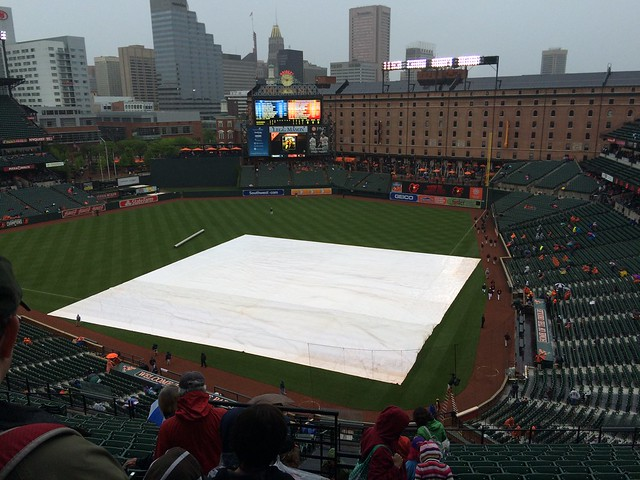 Rain Delay!
