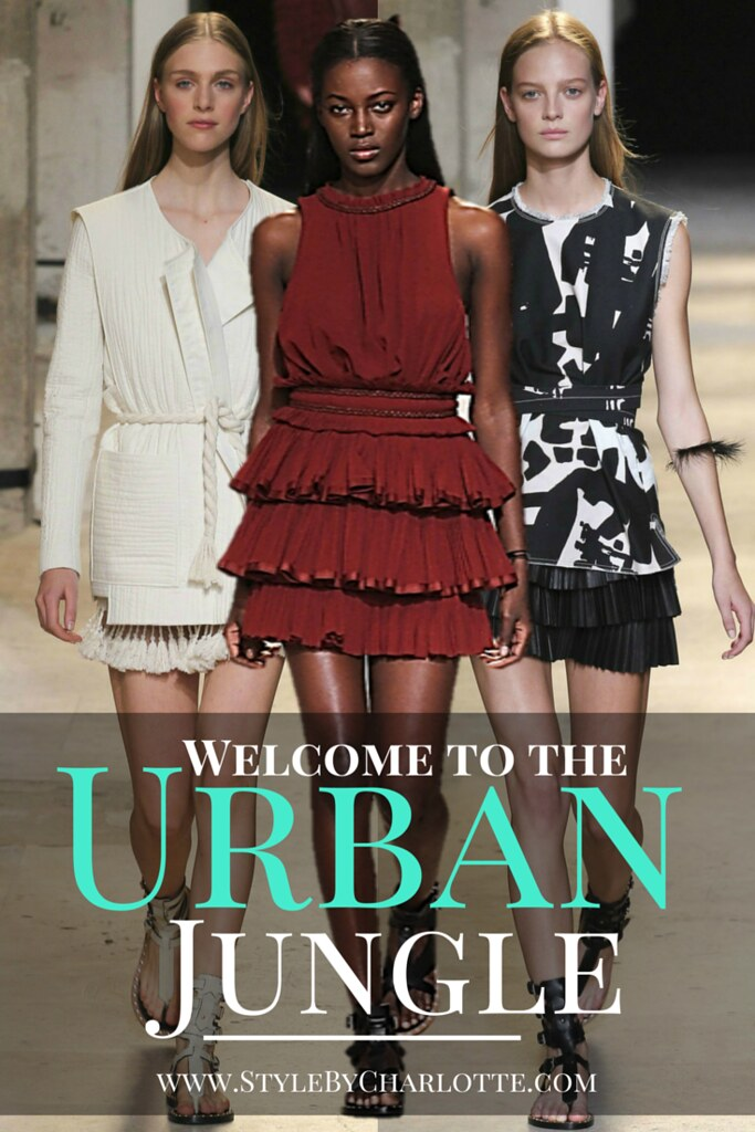 Urban Jungle #Moroccan inspired summer collection by Isabel Marant I www.StyleByCharlotte.com #Africa #IsabelMarant