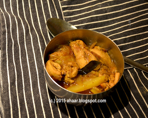Tamarind and pepper chicken