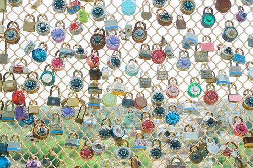 Locks of love.
