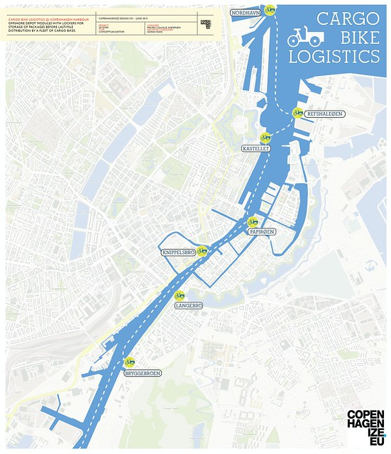 Cargo Bike Logistics by Copenhagenize Design Co.