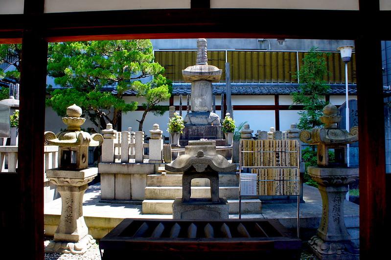 信長公墓/本能寺(Honno-ji Temple / Kyoto City) 2015/05/11