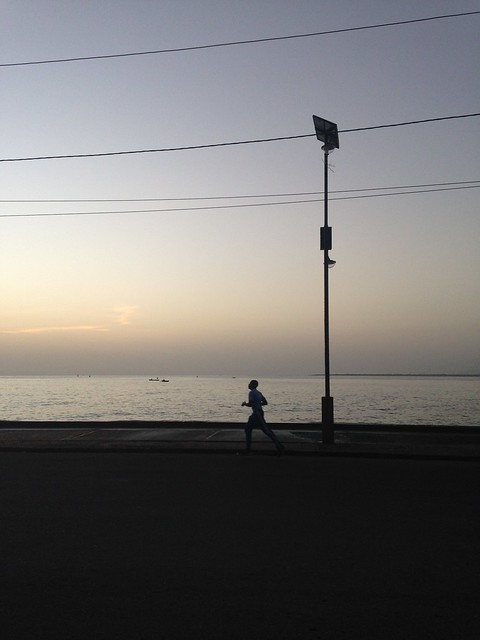 Cap Haitien is a jogging city