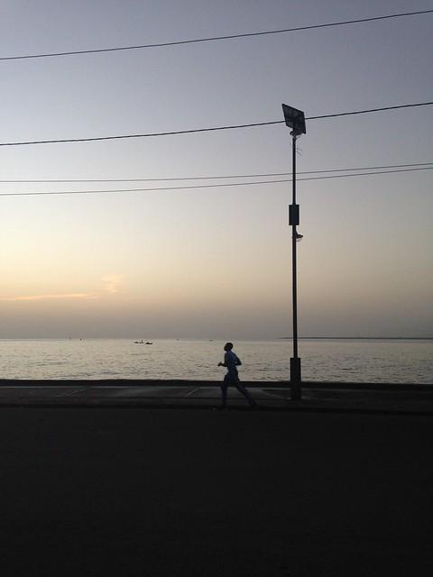 Cap Haitien is a jogging city