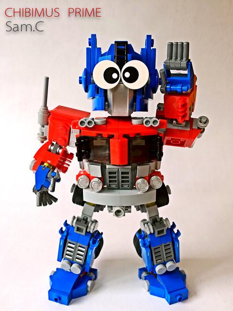LEGO Transformers: Chibimus Prime- Chibi Eyes