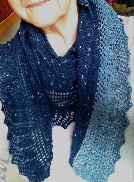 Indigo scarf 2