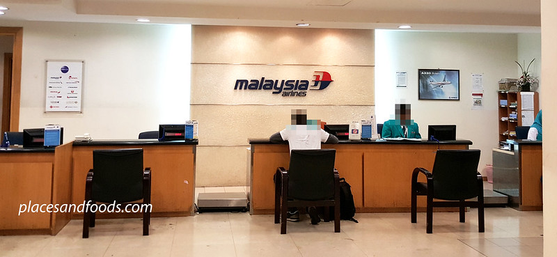 klia malaysia airlines lost and found area