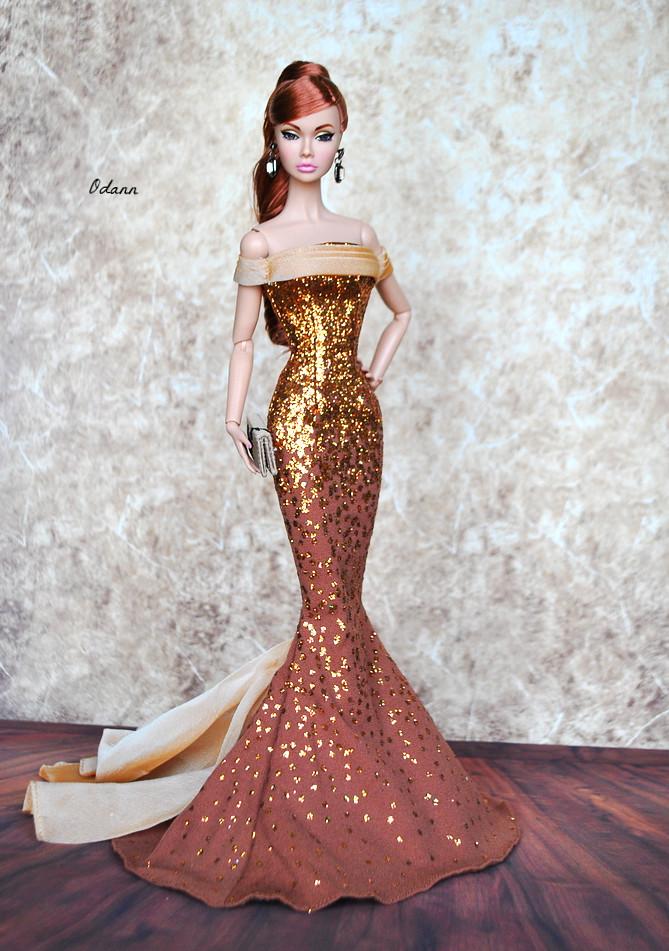 Poppy Parker Elegant Evening | Modeling Barbie Birthstone To… | Flickr