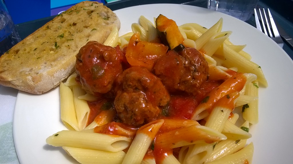 Cafeteria Food Pans ~ Meatballs not bad for cafeteria food milo
