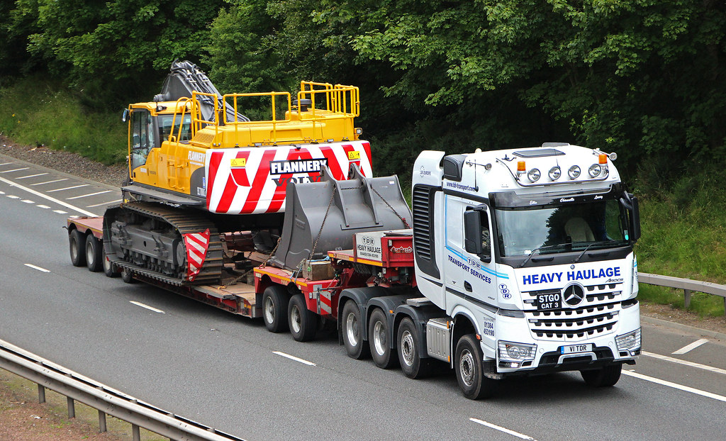 Mb Arocs Tdr Transport Services Heavy Haulage Dudley Wes