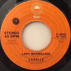 LABELLE:LADY MARMALADE(LABEL SIDE-A)