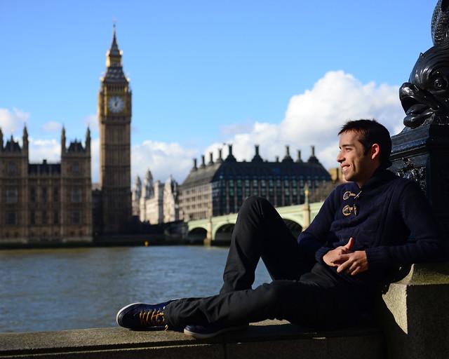 Miguel, de Diario de un Mentiroso, en Londres, en un post con los mejores hoteles