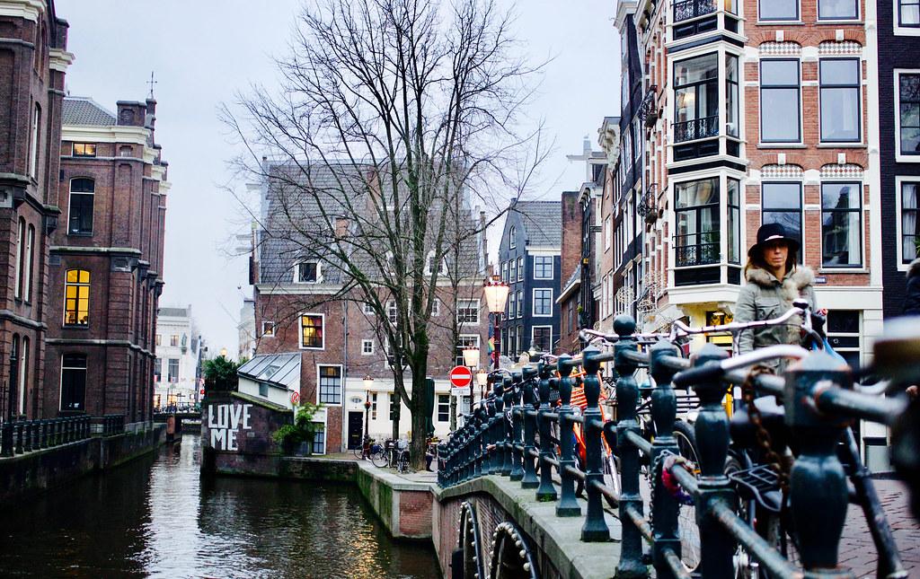 Cerca de la Universidad de Amsterdam