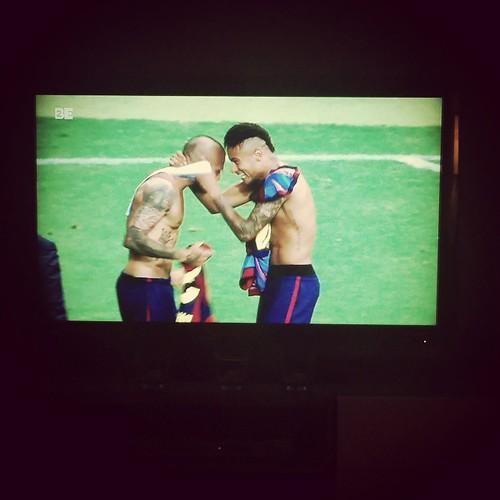 Ze gunnen de vrouwen toch ook wat. #uefachampionsleague