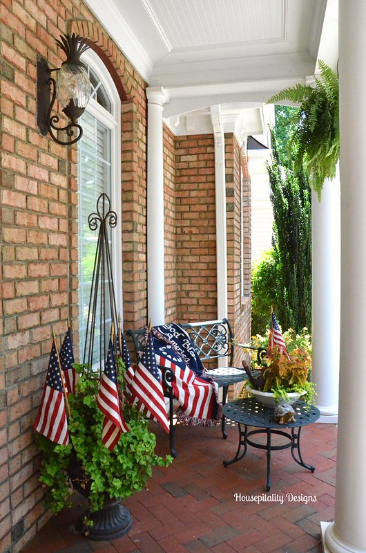 Summer Porch/Flag Day-Housepitality Designs