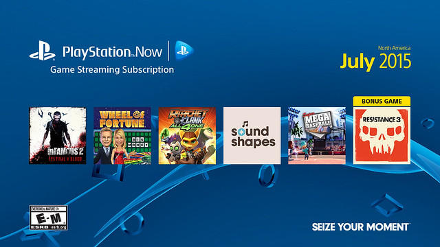 PS Now: July 2015