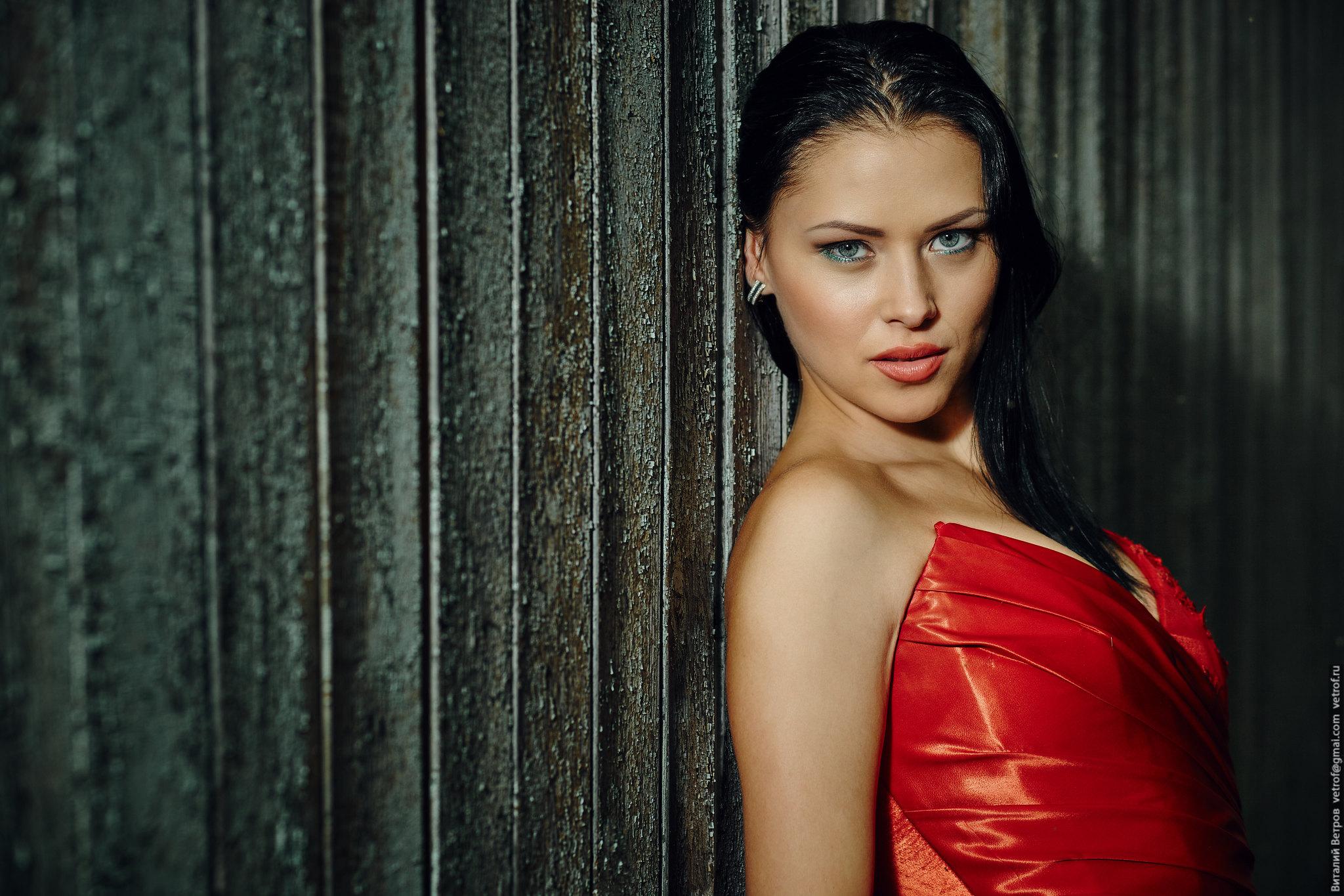 Портретная фотосессия. Студийный портрет. Фотограф в Сургуте: Виталий Ветров.