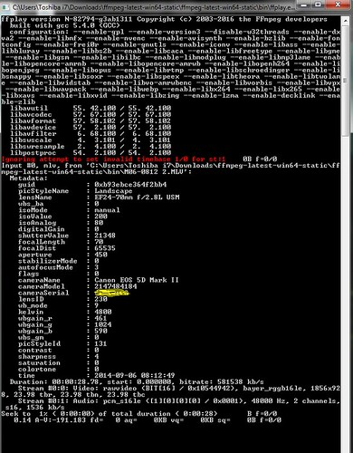 FFmpeg-Play with MLV Raw Support