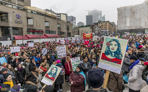 manif des femmes women's march montreal 63 | by Eva Blue