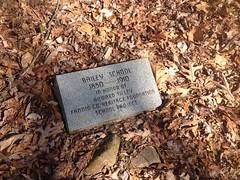 Bailey School Historical Marker