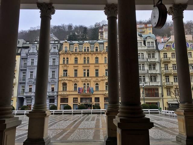 Karlovy Vary, una de las ciudades-balneario más importantes en la República Checa