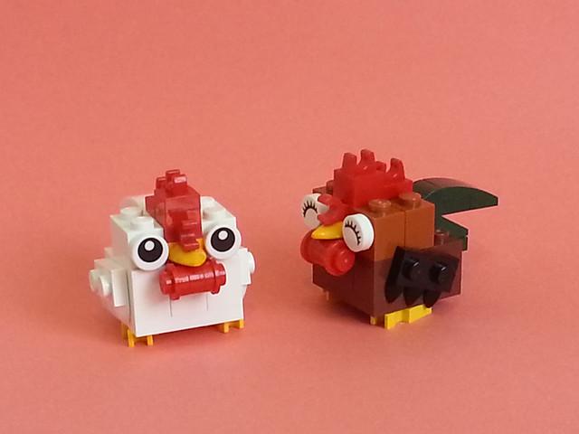 Brick Roosters (Brickens)