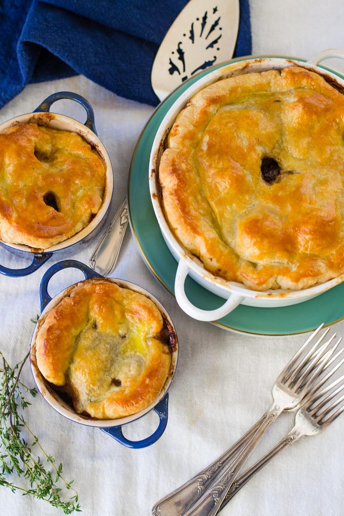 Beef Bourguignon Pot Pie