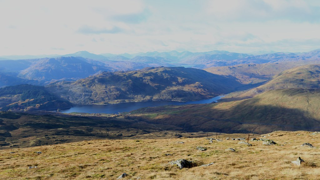West from Ben Ledi