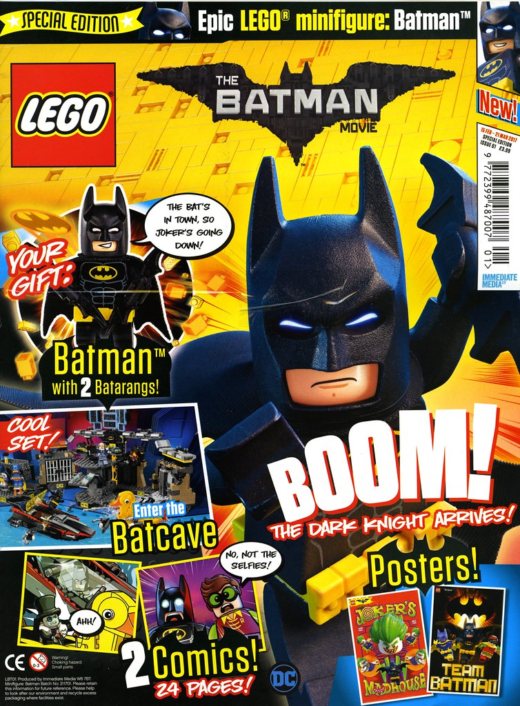 The LEGO Batman Movie comic out now | Brickset: LEGO set guide and ...