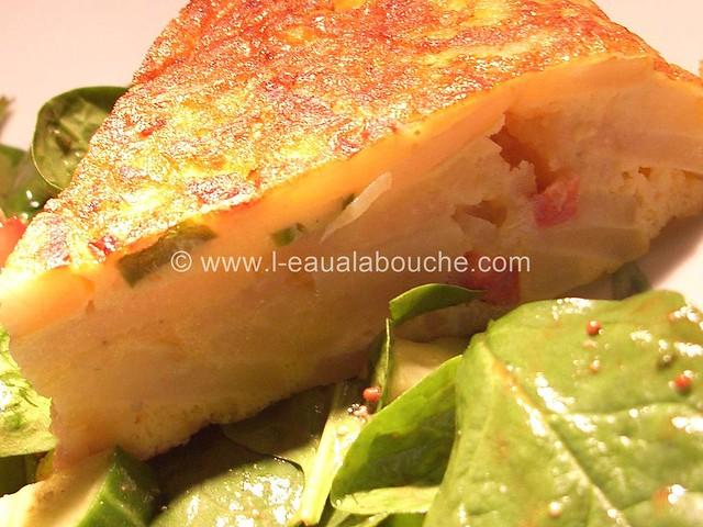 Tortilla de Patates au Chorizo & Piments © Ana Luthi Tous droits réservés 15