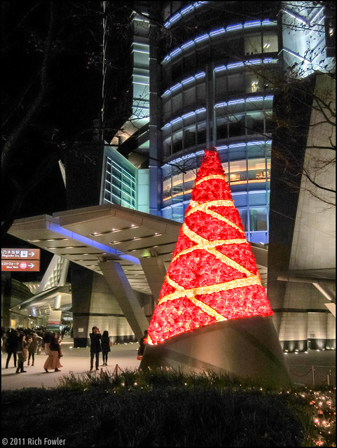 Christmas Tree at Roppongi Hills