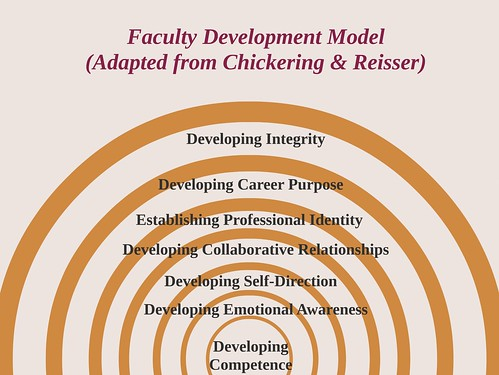 Faculty Development Model Chickering Reisser