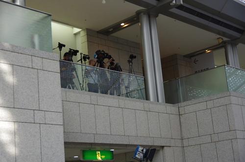集まるカメラ