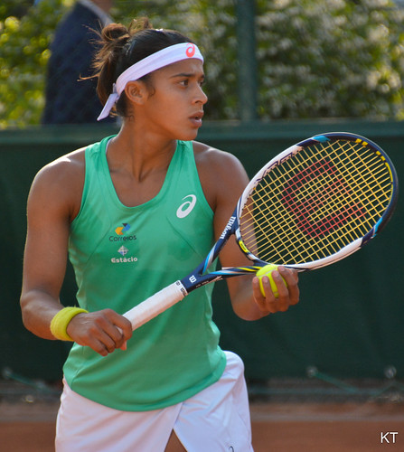 Teliana Pereira at the Roland Garros