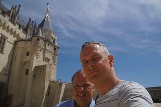 026 Kasteel Saumur selfie