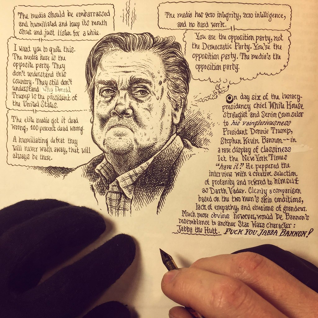 Jabba Bannon | by Mueller's Journal