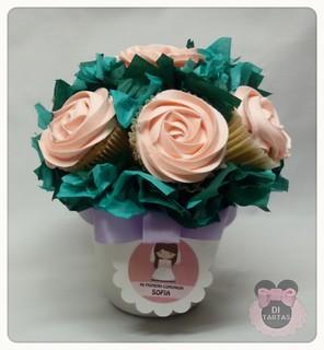maceta cupcake comunion