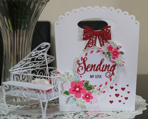 """Sending My Love"" Card"