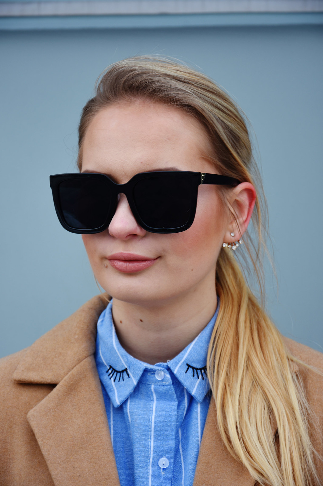 Classi square sunglasses