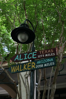 Alice Texas, Walker Arizona