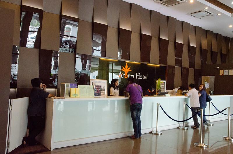 Lobby of Aroma Hotel Butterworth