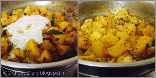 South Indian Potato Roast - step 4